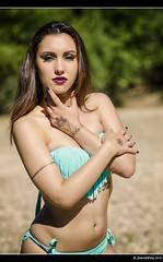 Dalia - 2/8 (Pogdorica) Tags: modelo sesion retrato posado rio alberche bikini chica sexy