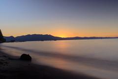 Sunset at Lake Tahoe (stankowskinick) Tags: lake tahoe sunset beach waves water nd filter