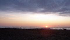 Sonnenaufgang über dem Meer (loitz79) Tags: fra frankreich geo:lat=4313098400 geo:lon=314234600 geotagged gruissan languedocroussillon vires mittelmeer plagedesayguades sonne sonnenaufgang strand