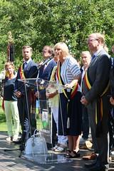 IMG_3129 (Patrick Williot) Tags: waterloo fetes communal parc juillet discours drapeau