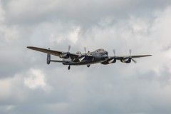 Lancaster PA474 (deltic17) Tags: bbmf lancaster spitfire hurricane bombercounty lincolnshire lestweforget