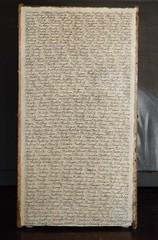 Strangers Battling Through Eternity (back panel) (LenCowgill) Tags: len cowgill art drawing writing handwriting