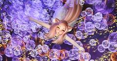 @ INSPIRE SPACE Park (♥ sparkling ♥) Tags: inspirespacepark sl secondlife secondlifeanime animehead animeavatar m3meshanimehead float floating space inspirespace