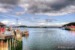 Oban Harbour (carrmp) Tags: scotland argyll bute oban harbour water cloud