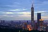 Taipei city (aelx911) Tags: a7rii a7r2 sony gmaster fe2470mmf28gm fe2470 landscape cityscape city urban taiwan taipei 101 虎山峰 台灣 台北 sunset night