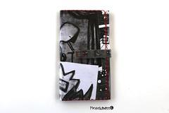 Black(ish) (helarraga) Tags: skulls gothic black dark paper collage darkart art