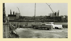 Working Trucks (gpholtz) Tags: diorama miniatures 118 diecast chevrolet 1965 ford pickup truck