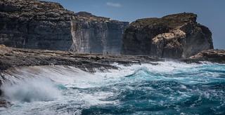 Waves. Gozo