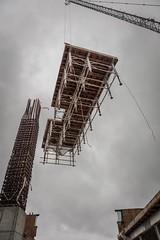 Vancouver BC - Exchange Tower (23) (doublevision_photography) Tags: vancouver vancouvercity vancouverrealestate vancouverbc vancouverskyline vancity vancouvercanada jasocrane constructioncrane vancouverconstruction roofing vancouverroofing contruction towercranephotography flyingtables tableflying