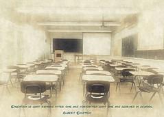 Classroom (sirhowardlee) Tags: classroom school desk famousquotes einstein