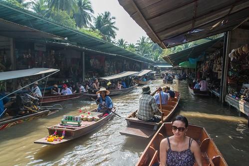 marche fottant damnoen saduak - thailande 36