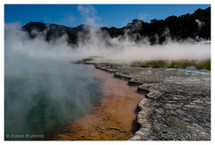 I have no tittle for that (al3x!s) Tags: black blue brown color colour d7000 geology gray green grey lake landscape nature newzealand nikkor24mm nikon orange outside photo plant sunlight travel tree water white waiotapu bayofplenty