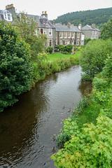 River Tweed, Peebles (scuba_dooba) Tags: peebles scotland town na pùballan tweeddale shops river tweed