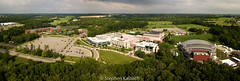 FLCC campus after a storm cloud passed over - pano - 20170714.jpg (Stephen Kalbach) Tags: canandaigua newyork unitedstates us