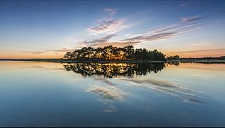 Reflection of Hatchet Pond
