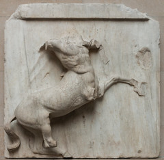 IMG_1607 (jaglazier) Tags: 2017 447bc438bc 5thcenturybc 7417 animals archaeologicalmuseums architecturalelements architecture athena athens britishmuseum buildings centaurs classical copyright2017jamesaglazier crafts england grecoroman greece greek july lapiths london marble metopes museums mythical parthenon phidias religion religions rituals stonesculpture stoneworking urbanism archaeology art barefoot battles cities duels highrelief reliefs sculpture temples westminster