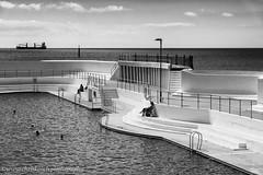 Jubilee Pool (www.chriskench.photography) Tags: southwest england europe penzance cornwall travel kernow unitedkingdom gb architecture artdeco monochrome bw blackandwhite swimmingpool