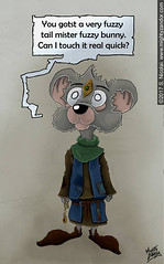 Bauble Mouse (MightyZandor) Tags: mouse illustration fantasy adventure webcomic sword sorcery