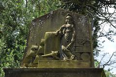 shipping surveyor (werewegian) Tags: greenock cemetery headstone victorian werewegian jul17 johnbarrcumming 1860 sailingship
