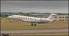 EC-MLR Gulfstream G650 c/n 6184 TAG Aviation Espana SL (EGLF) 16/07/2017 (Ken Lipscombe <> Photography) Tags: ecmlr gulfstream g650 cn 6184 tag aviation espana sl eglf 16072017 farnboroughairporticaoeglfbizjetsaviationflyingtag