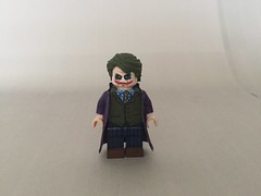 The Dark Knight: Joker (BossBricks) Tags: thedarkknight custom minifigure figure lego ledger heath joker