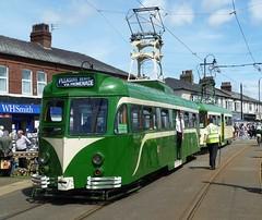 20170716 Fleetwood Tram Sunday (blackpoolbeach) Tags: blackpool tram tramway streetcar fleetwood fishermans walk 623 680 brush