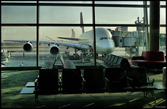 United Arab Emirates - Gatehouse Airbus A-380 (Cyril Chartier) Tags: cyrilchartier uae dubai abu dhabi ajman airbus a380 jumbo airport gatehouse