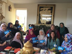 With Turkish women's group