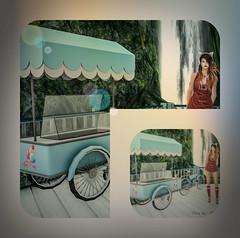collage2 ice cream (Poppys_Second_Life) Tags: ice cream cart