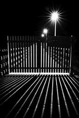 (Px4u by Team Cu29) Tags: steg beleuchtung licht schatten nacht ausgesperrt geschlossen zu tor tür verschlossen imdunkeln weg strase