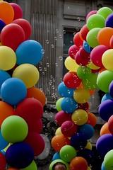 (Giramund) Tags: londonpride lgbt celebration colourful balloons rainbow loveislove equality bubbles