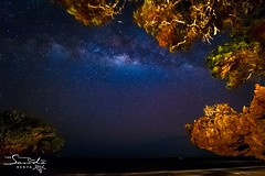 Starry Night at Chale Island #milkyway