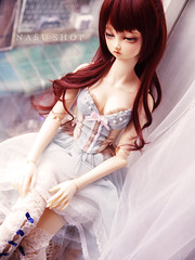 (nasu_shop/寶井茄子/ +*. 原味茄汁本舖 .*+) Tags: bjd volks doll nana makeup