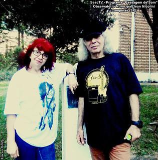 Suzi N. de Medeiros e Tony Babalu - Programa Passagem de Som (SescTV)