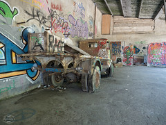 E-M1MarkII-13. Juli 2017-14-51-35 (spline_splinson) Tags: consonno graffiti graffitiart graffity italien italy lostplace losttown oldcar oldtruck ruin ruinen ruins truck lombardia it