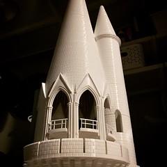 The Lightening Struck Tower (EZBSVS Studios) Tags: ezbsvs 3d printed hogwarts castle wanhao duplicator i3 monoprice maker select astronomy tower harry potter 3dsmax autodesk inventor simplify3d hatchbox pla usafilament