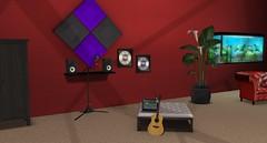 Empire Recording Area (Akaesha Revnik) Tags: second life secondlife akaesha react animated furniture animations couple bed bath sofa set