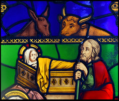 Nativity (detail, 1845) (Simon_K) Tags: ely cambridgeshire cambs eastanglia cathedral window glass stained sgm nikon d5300