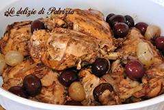 Pollo alla cacciatora con olive e cipolline (Le delizie di Patrizia) Tags: pollo alla cacciatora con olive e cipolline le delizie di patrizia ricette secondi piatti