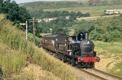 """A"" Class In The Heat. (neilh156) Tags: steam steamloco steamengine steamrailway railway 1300 oakworth keighleyworthvalleyrailway kwvr worthvalleyrailway lancashireyorkshirerailwayclass27 aclass lancashireyorkshirerailway ly aspinall"