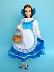 Dazed And Distracted (honeysuckle jasmine) Tags: disney belle beauty beast doll barbie