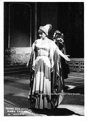 CALLAS, Maria, Alceste, Teatro alla Scala, Milano (Operabilia) Tags: gluck alceste claudepascalperna opera operabilia mariacallas mariameneghinicallas milano teatroallascala dominiquejpréaux lirica