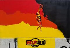 Helpuss (HBA_JIJO) Tags: streetart urban graffiti vitry vitrysurseine pochoir stencil art france wall mur painting aerosol peinture paris94 spray alpiniste helpuss escalade