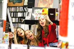 Haim-ing It Up............. (law_keven) Tags: haim haimtheband music london england uk roughtraderecordstore recordstore girls sisters indierockgroup musicians losangelesrockgroup