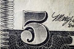 Five Dollar Bill (Tovar Photography) Tags: dollar bill usa us currency macro magnification magnify 85 85mm rokinon samyang extension tubes tube kenko five 5