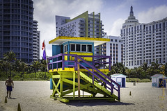 Art Deco at the Beach 2017 (MoArt Photography) Tags: lifeguardtower miamibeach berndspeck artdeco beach moartphotography