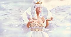 Will I ever care?... (Vixen Darkrose) Tags: sailormoon crystalhear moonrabbit moon usagi rabbit