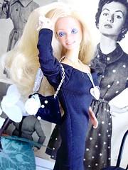 Peaches and cream 1984 going modern (Silky collector) Tags: barbie superstar 1980´s mattel modern