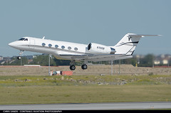 Goat Air GIV N701DB ($and$man) Tags: takeoff cyyc yyc calgary airplane aircraft airport gulfstream giv g4 businessjet corporatejet n701db goat air
