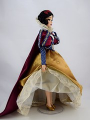 2017 D23 Snow White Limited Edition 17 Inch Doll - Disney Store Purchase - Deboxed - Standing With Skirt Raised - Full Left Side View (drj1828) Tags: d23 2017 expo purchases merchandise limitededition artofsnowwhite snowwhiteandthesevendwarfs snowwhite princess deboxed le1023
